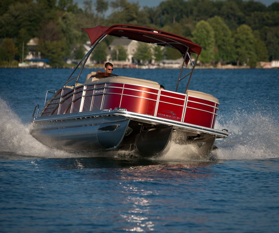 Sx Series Pontoon Boats By Bennington