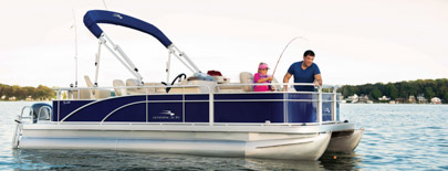Bennington owners do not have to sacrifice quality when they choose to simplify. Select any one of our S Series models in a cruising or fishing layout and you will know you have stepped aboard a quality boat. Clean lines, carefully-selected amenities and consolidated floorplan choices make the S Series the first choice for customers who want to simplify. Add to the fun by selecting the optional Extended Aft Deck or the new Express Performance package to the 22' or 24' S models.