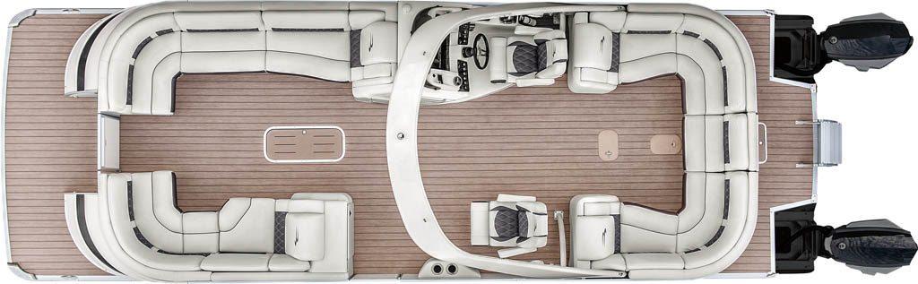 Pontoon Boat Floor Plans