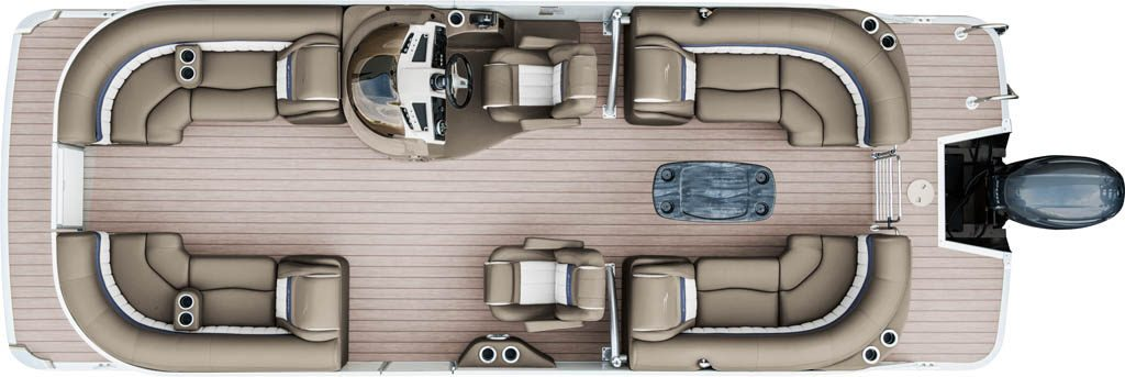 2017 G23 Fastback Sport Arch Pontoon Boats By Bennington
