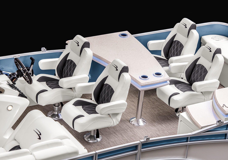 2017 R25 Dinette Pontoon Boats By Bennington