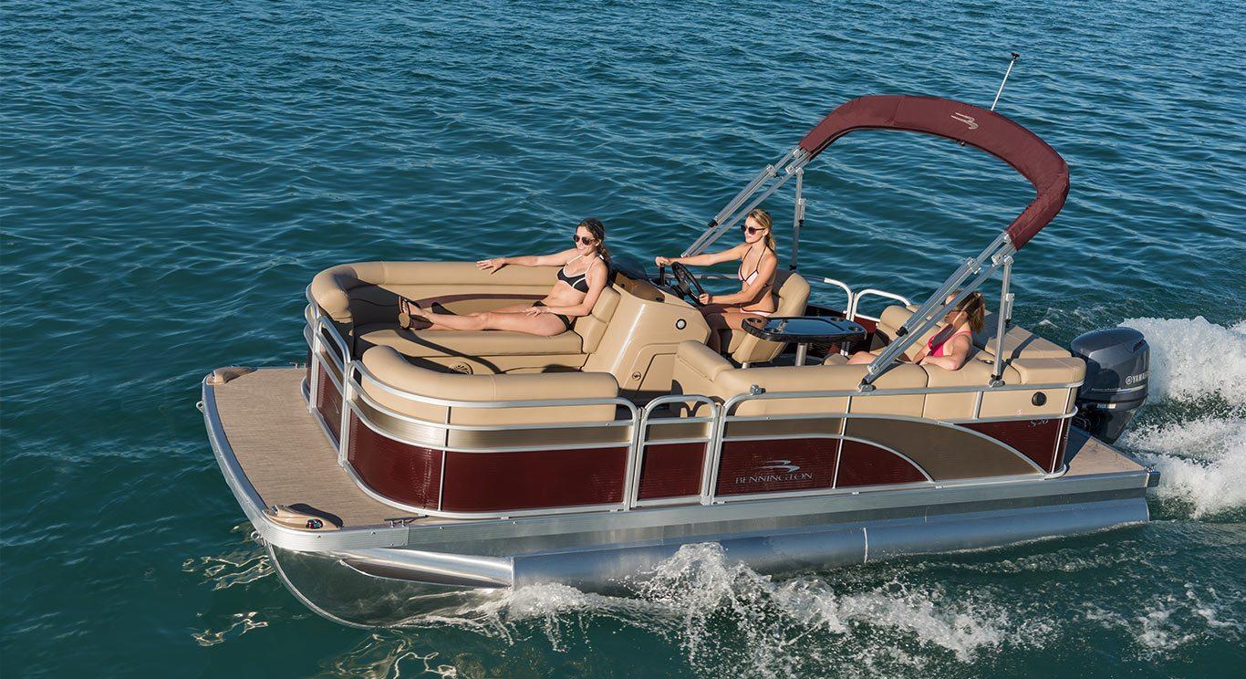 2017 S20 Cruise Pontoon Boats By Bennington