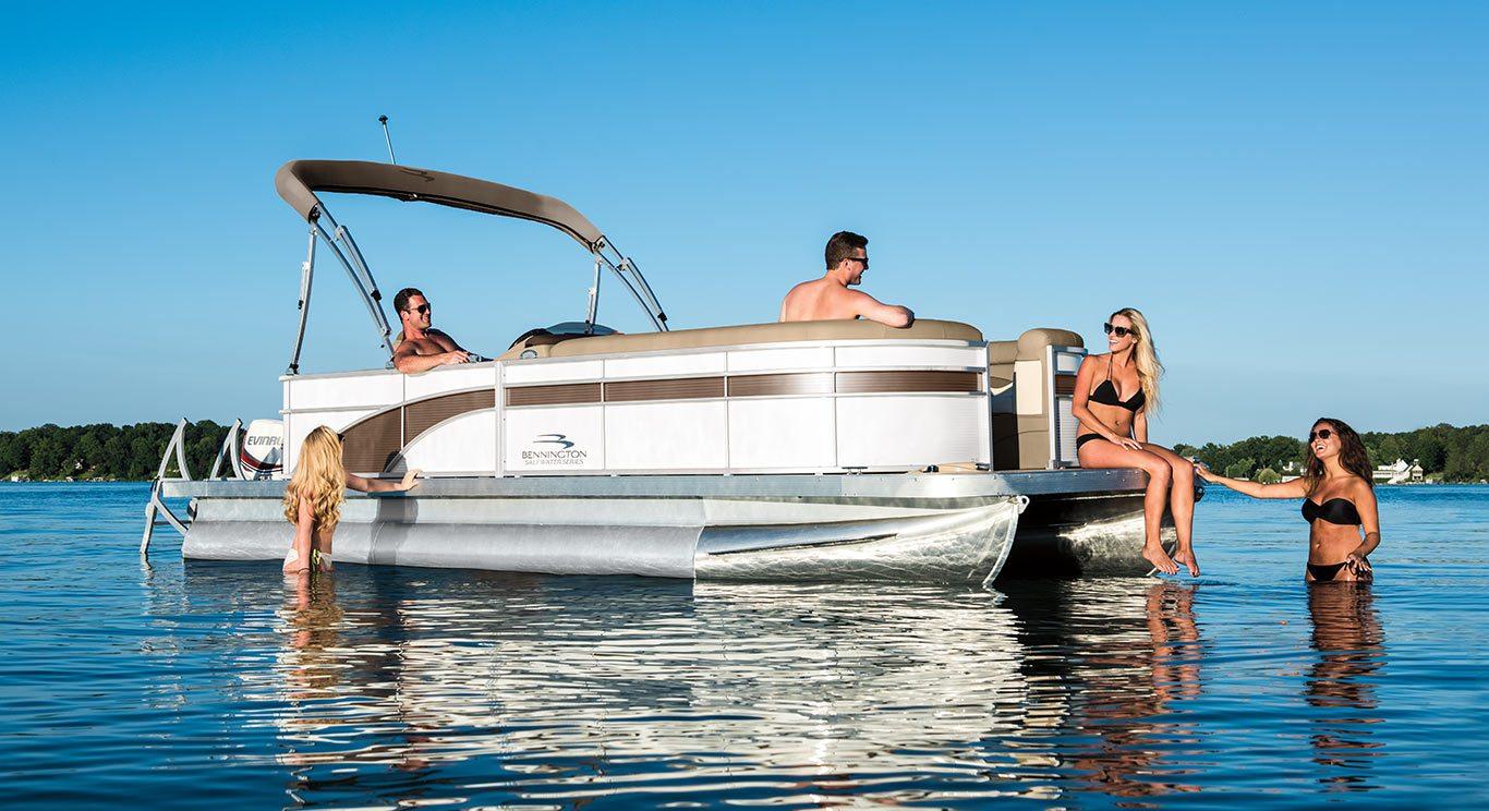 2017 SX21 Cruise Pontoon Boats by Bennington