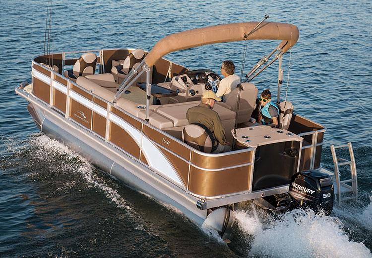 S Series Pontoon Boats By Bennington