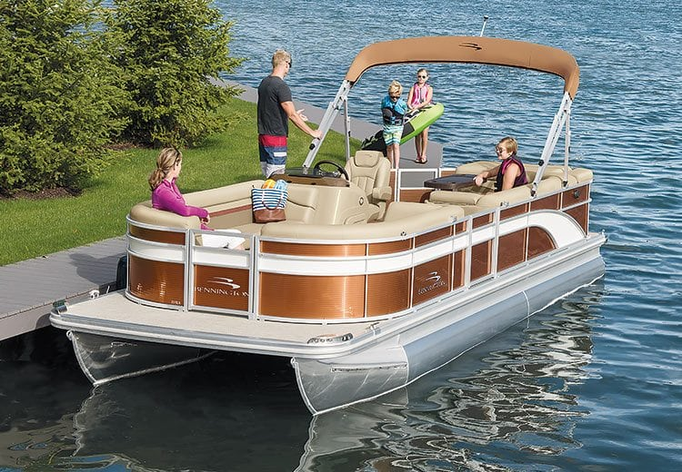 For Pontoon Boaters Seeking The Best Combination Of Value And Luxury Bennington Sx Series Pontoons Tri Toons Are You