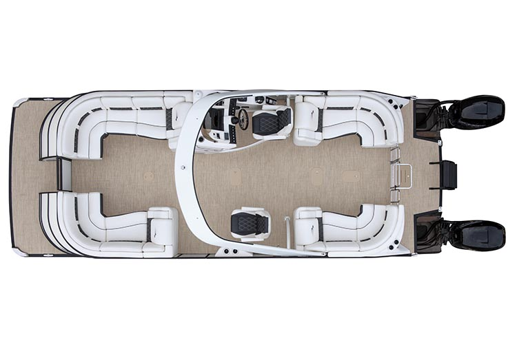 Pontoon Boat Floor Plans