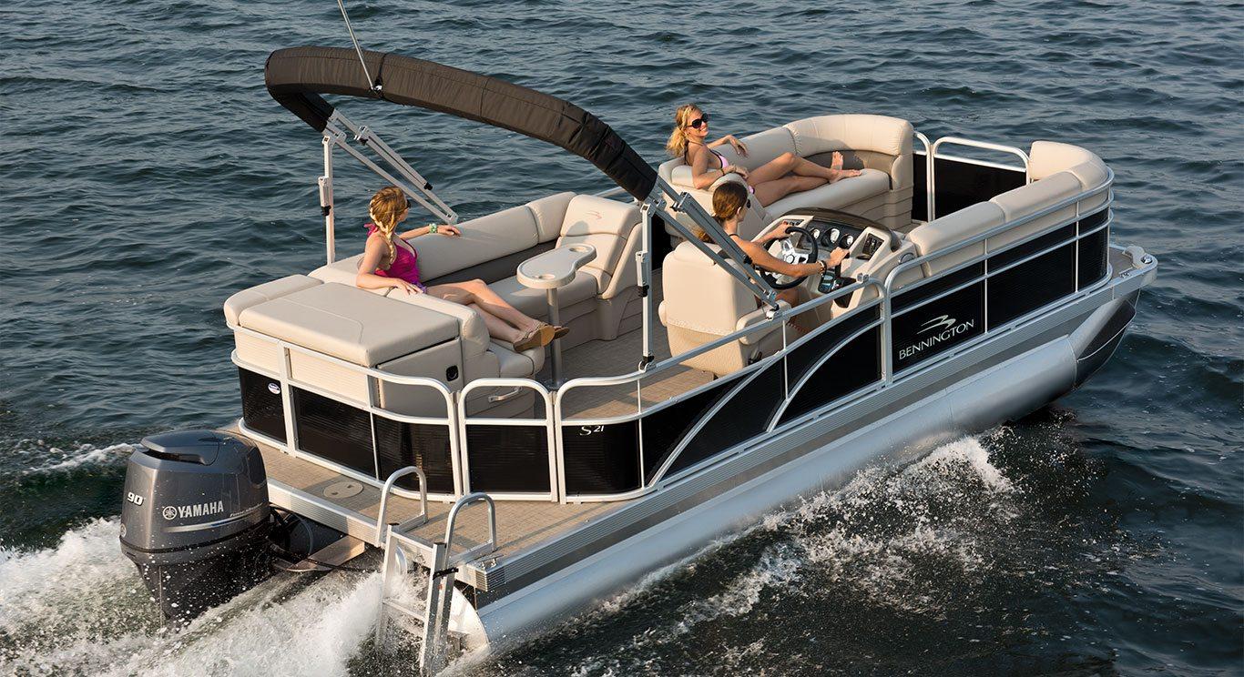 S21 Cruise Pontoon Boats By Bennington