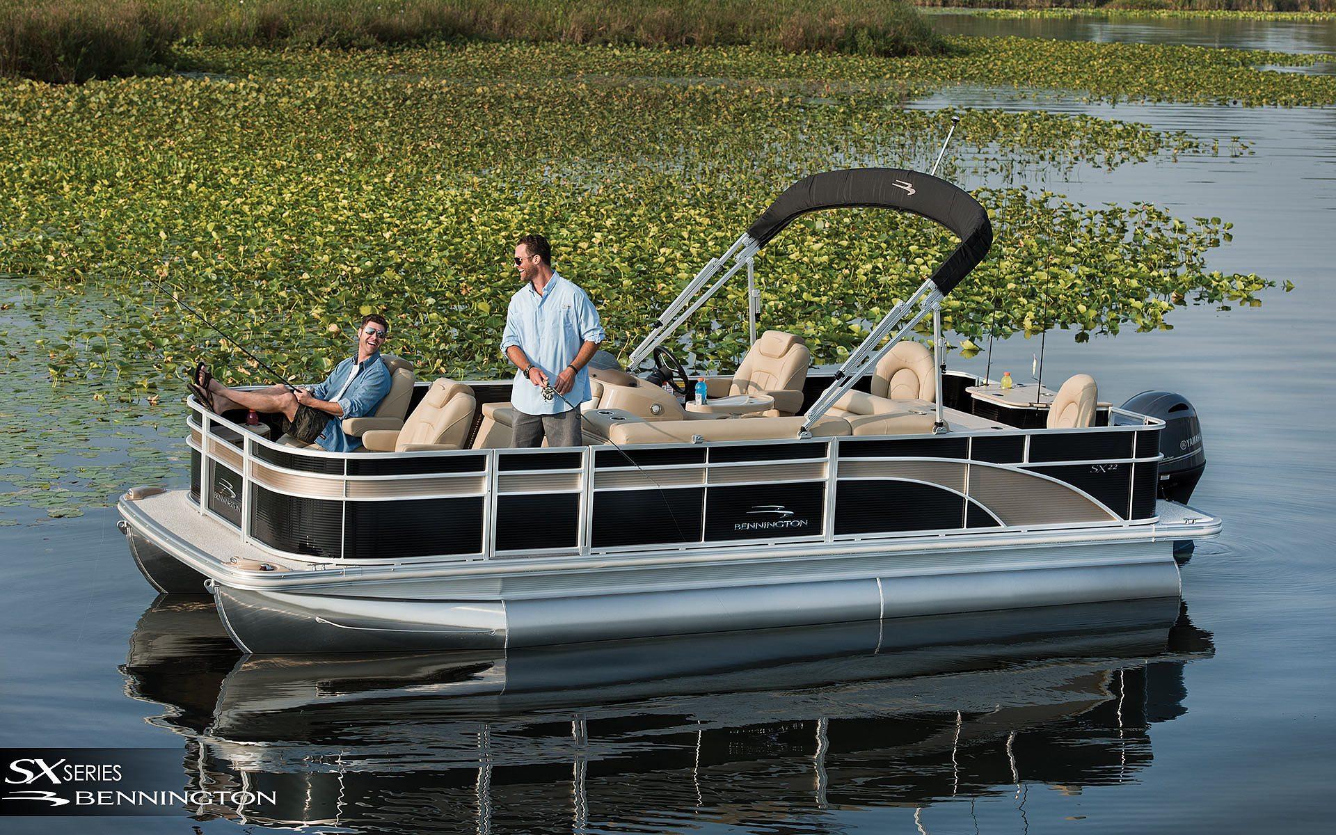 Prep Your Pontoon Boat For Fishing Bennington Pontoon Boats