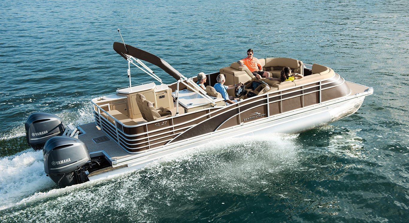 2017 Q27 Custom 10 Wide Beam Pontoon Boats