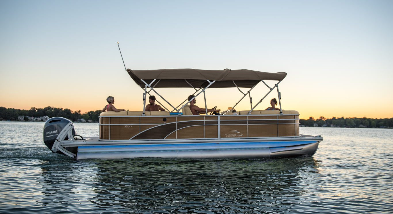 2017 Sx24 Dinette Pontoon Boats By Bennington