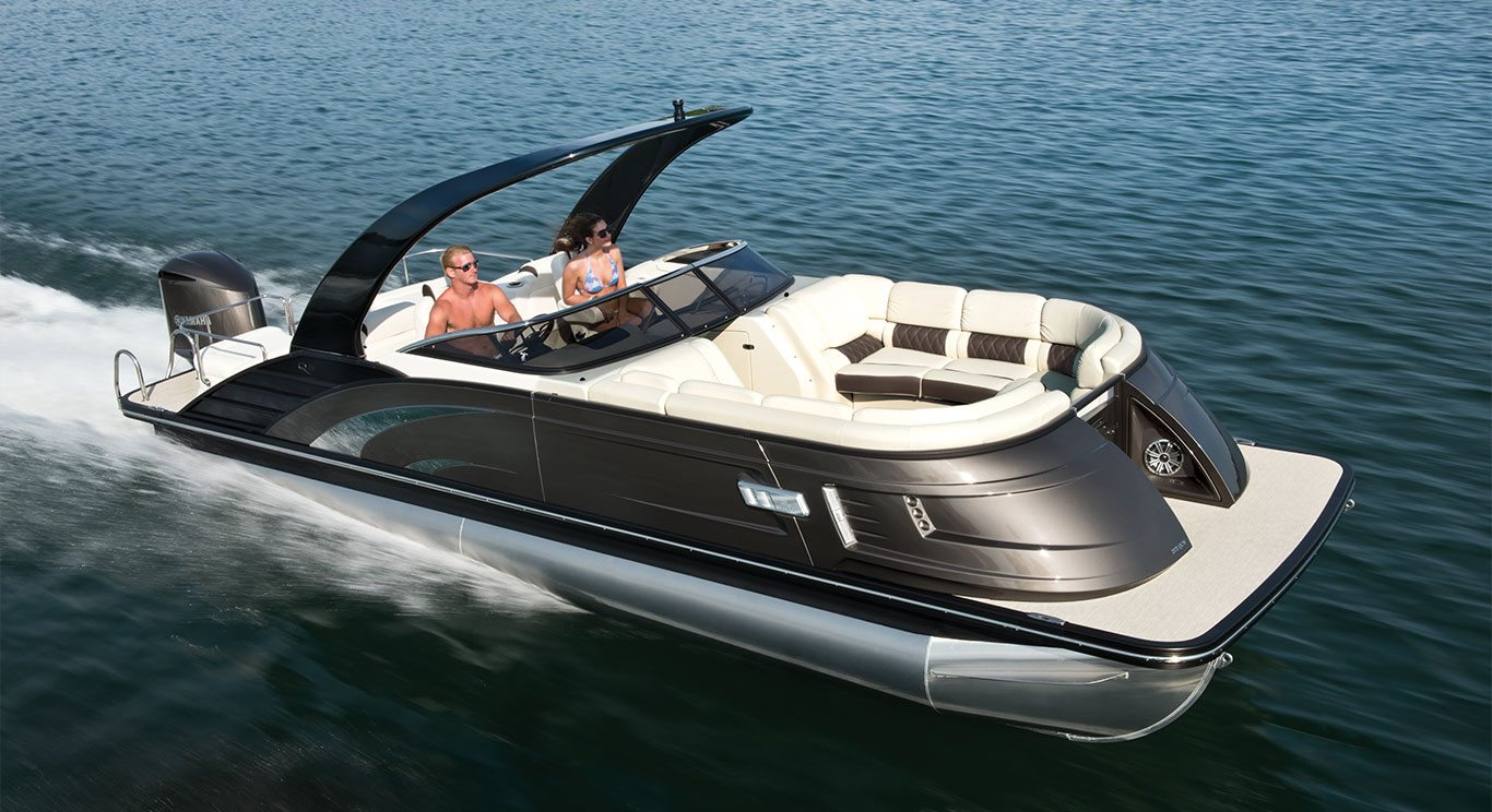Qx25 Fiberglass Pontoon Boats By Bennington