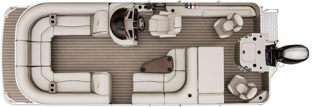 superb boat floor plans #5: FLOOR PLAN. Pontoon Boat Floor Plans