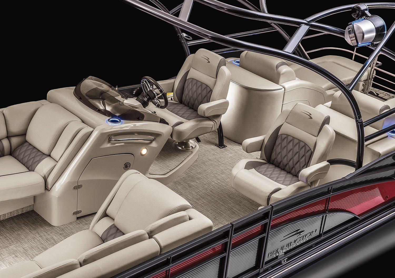 2017 Q25 Io Stern Drive Sport Tower Pontoon Boats