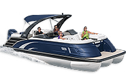 The QX Fiberglass Luxury Pontoon Boats From Bennington