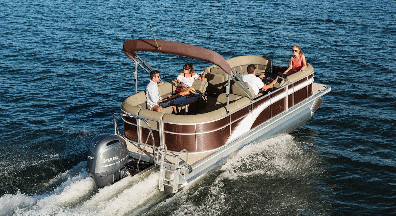 2017 sx22 premium pontoon boats by bennington for Best fishing pontoon boat