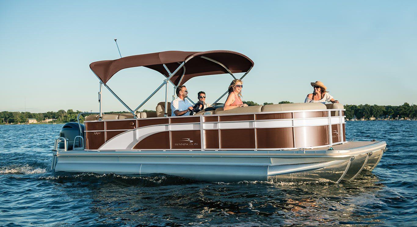 2017 SX22 Premium Pontoon Boats By Bennington
