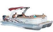 The R Series Performance & Luxury Pontoon Boats From Bennington