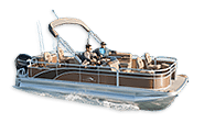 The S Series Fishing & Cruise Pontoon Boats From Bennington