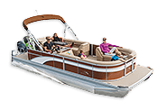 The S Family of Pontoon Boats From Bennington