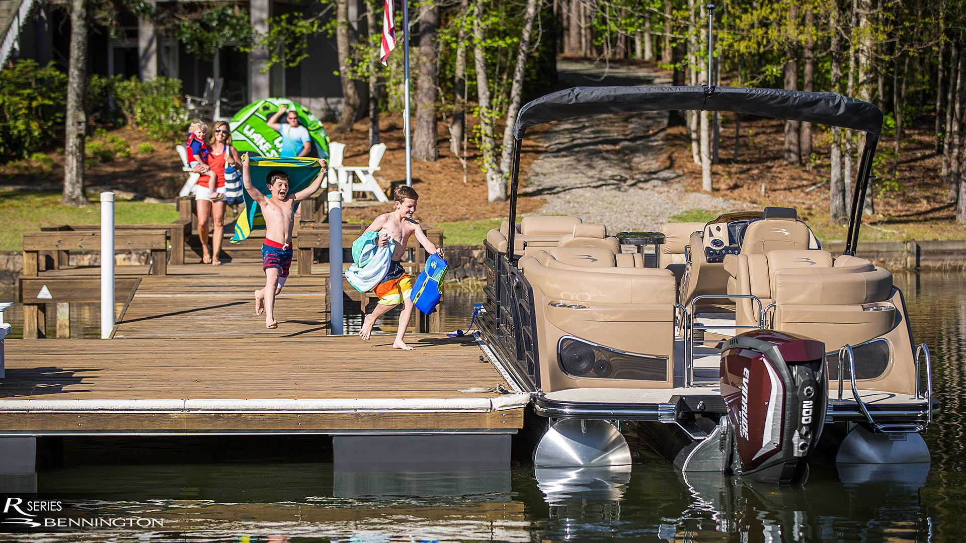 Bennington Pontoon Boats