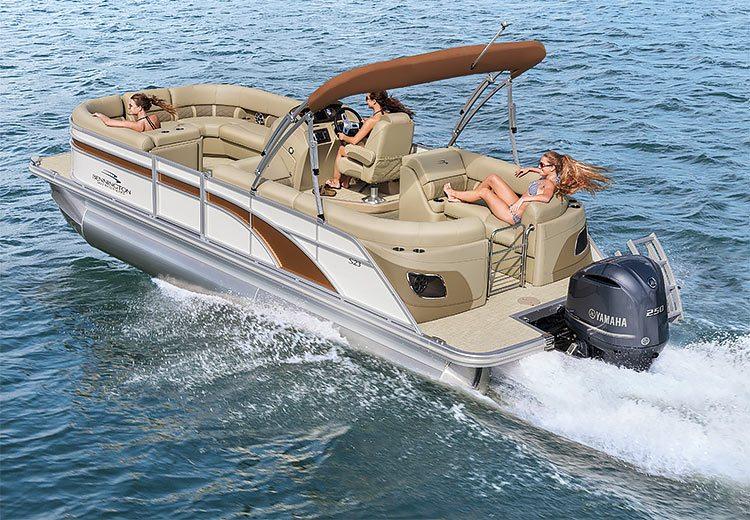 Sx Series Pontoon Boats By Bennington