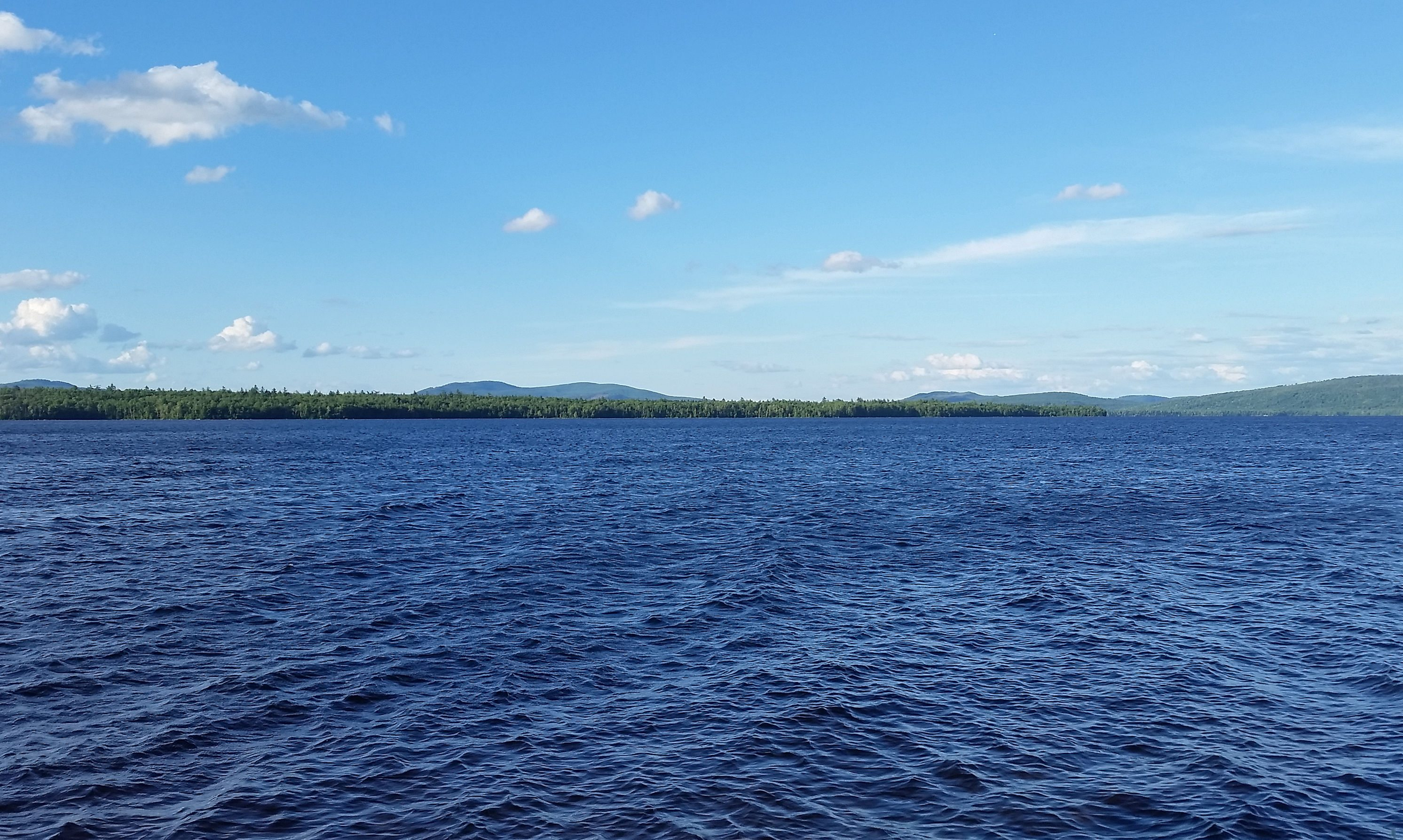 Maine Lakes Map, Best Maine Lakes For Pontoon Boating, Maine Lakes Map