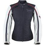 Women's Cascade Jacket - Black/White Leather