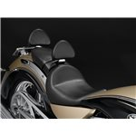 Kingpin Touring Passenger Seat Backrest - Black