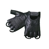 Mens Fingerless Glove - Black