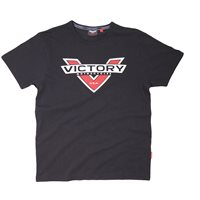 Logo Color Badge T-Shirt Black