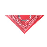 Victory Detailed Bandana - Red