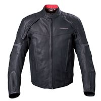 Men's Waterproof Canyon Jacket - Black Leather