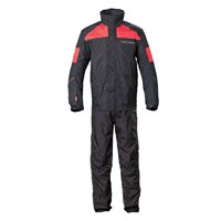 Unisex Victory Rainsuit - Black/Red