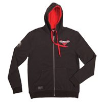 Men's Badge Attitude Hoodie - Black