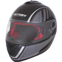 Modular Full Face Motorcycle Helmet - Black