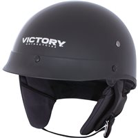 Half Helmet 1 Open Face - Black