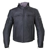 Men's Magnum Jacket - Black Leather