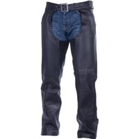 Men's Victory Chaps - Black Leather
