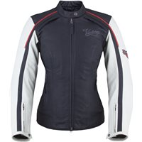 Women's Cascade Jacket - Black/White Leather