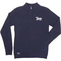 Men's Classic 1/4 Zip Knit - Navy