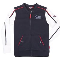 Women's Logo Zip Thru - Black/White