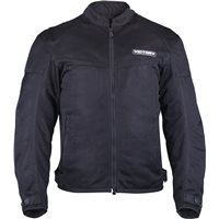Men's Lite Mesh Jacket- Black