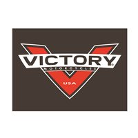 Victory Motorcycle Red-V Leather Patch