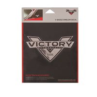 Victory Motorcycle V-Badge Emblem Decal