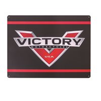 Victory Motorcycle Metal Sign-Logo