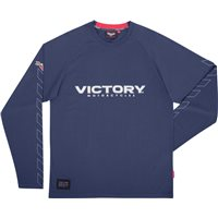 Mens Engine Long Sleeve T-Shirt - Navy
