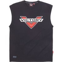 Men's Sleeveless Tee-Black by Victory Motorcycles®