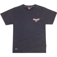 Mens Short Sleeve Bar Logo Tee -Black