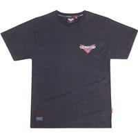 Mens Short Sleeve Bar Logo Tee -Black