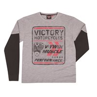 Men's LS V-twin 2-in-1 Tee